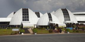 L'aéroport de Bujumbura, capitale économique du Burundi.
