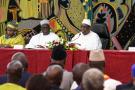 Le président sénégalais Macky Sall, lors de l'ouverture du dialogue national.