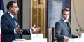 Mohamed Bazoum et Emmanuel Macron, à l'Élysée, le 9 juillet 2021, lors de leur conférence de presse commune à l'issue du sommet virtuel du G5 Sahel.