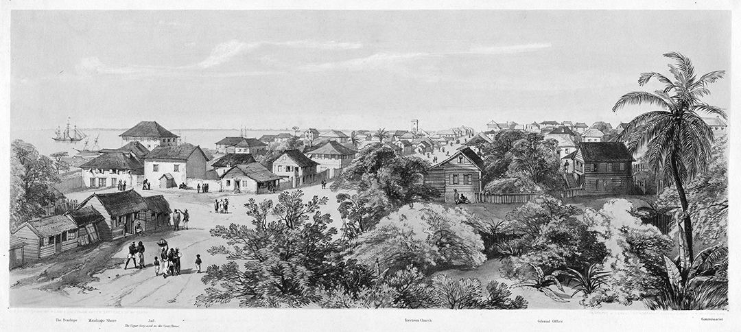 Vue de Freetown