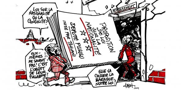 LA CONGOLITE 100% HONNIE JADIS DE DEHORS ET MEME DE DEDANS CONSIDEREE COMME UN CONCEPT A HAUTS RISQUES, XENOPHOBE ET DIVISEUR REVIENT EN FORCE AVEC LA PROPOSITOPN DE TSHIANI SUR DE NOUVELLES CONDITIONS D'ACCES A LA MAGISTRATURE SUPREME ! QU'EN PENSER ? Congoliteok-scaled-592x296-1626106369