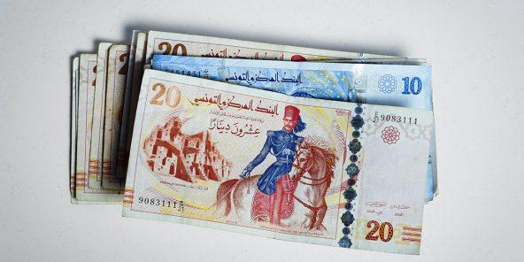 Dinars tunisiens.