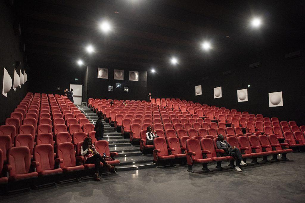 La salle du CanalOlympia Teranga, ouvert en mai2017, près du Grand Théâtre.
