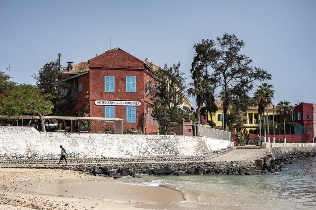 Gorée, en juin 2021. Le patrimoine naturel et historique de l'île, comme son charme, sont encore préservés.