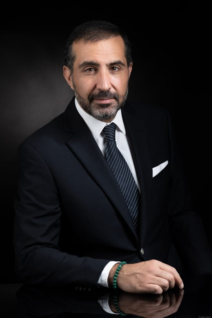Le président de l'Institut marocain d'intelligence stratégique Abdelmalek Alaoui, à Rabat.
