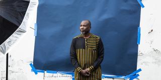 Le joueur de kora malien Ballaké Sissoko à Paris, le 8 mars 2021.