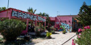 Le centre culturel Guédiawaye Hip-Hop (GHipHop), en banlieue de Dakar, en novembre 2020.