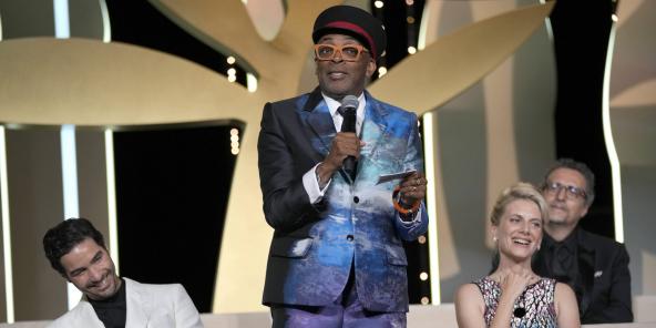 Le cinéaste Spike Lee, président du jury du festival de Cannes 2021.