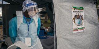 L'hô^pital malgache Joseph-Ravoahangy-Andrianavalona où les premières doses de vaccin Oxford/AstraZeneca étaient attendues en mai 2021.