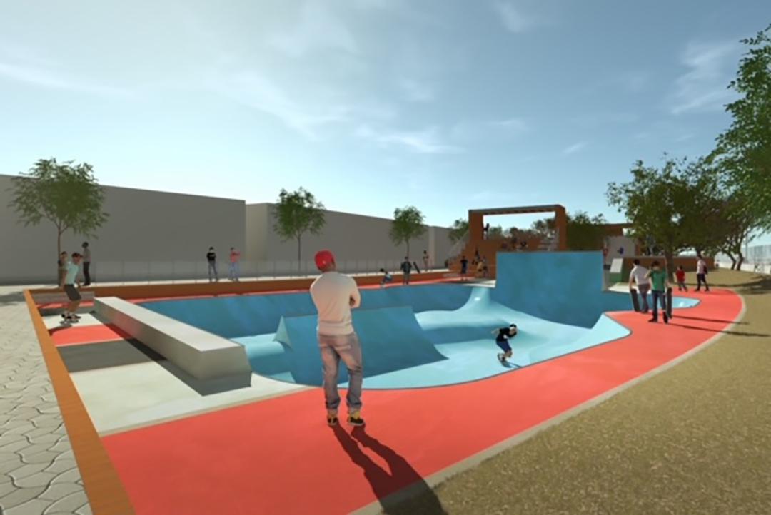 Conçu par l'architecte Carole Diop et le designer Bibi Seck, le skatepark de la Maison des cultures urbaines de Dakar devrait être opérationnel d'ici à la fin de 2021.