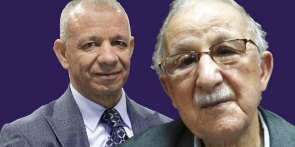 Les Algériens  Mohand-Ouamar Benelhadj et Abdelkader Bengrina.