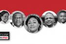 La garde rapprochée de Denise Nyakeru Tshisekedi.