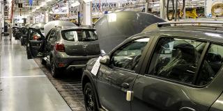 Assemblage de Dacia Sandero Stepway II  à l'usine Renault-Nissan de Tanger.NISSAN DE TANGER