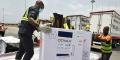 La Côte d'Ivoire a reçu 504 000 doses de vaccin AstraZeneca Covid-19 le 26 février 2021.