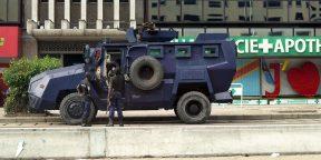 Des policiers déployés dans les rues de Kinshasa en janvier 2019 (illustration).