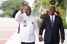 Laurent Gbagbo et Alassane Ouattara, le 27 juillet.