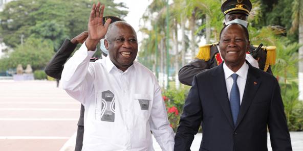 Ouattara-Gbagbo : leur tête-à-tête côté coulisses – Jeune Afrique
