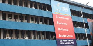 Le siège de la Commission à Kinshasa.