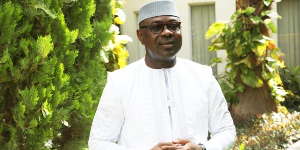 Seydou Mamadou Coulibaly, à Bamako le 5 août 2021.