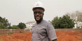 Patrick Eklu Amendah, architecte-urbaniste, fondateur du cabinet Giga, à Lomé.