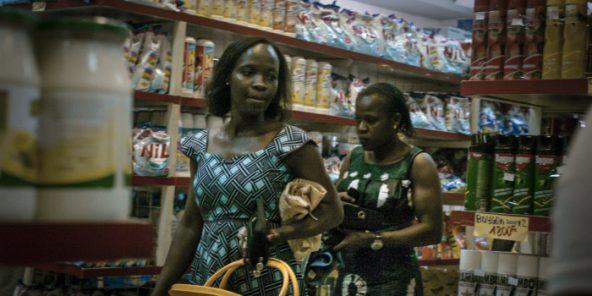 Supermarché Cash Ivoire – St Michel Adjamé, à Abidjan.