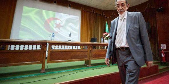 Abdelmadjid Chikhi à Alger, en août 2020