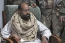 Seif el-Islam après sa capture à Obari, en Libye, le 19 novembre 2011.