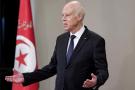 Le président tunisien Kaïs Saïed au palais de Carthage, le 2 septembre 2020