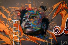 Dakar possède le festival de grafiti le plus ancien d'Afrique.