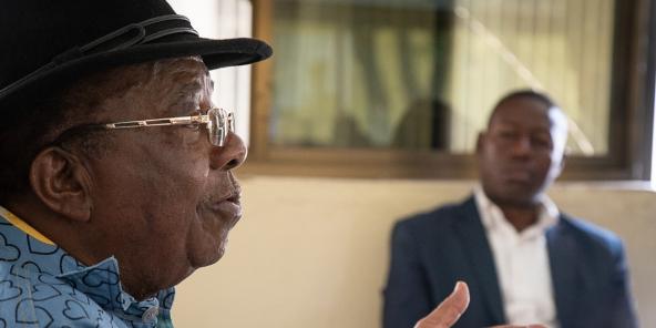 Gabriel Kyungu wa Kumwanza, président fondateur de l'Unafec.
