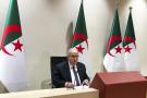 Le chef de la diplomatie algérienne Ramtane Lamamra lors d'une conférence de presse, le 24 août 2021, à Alger.