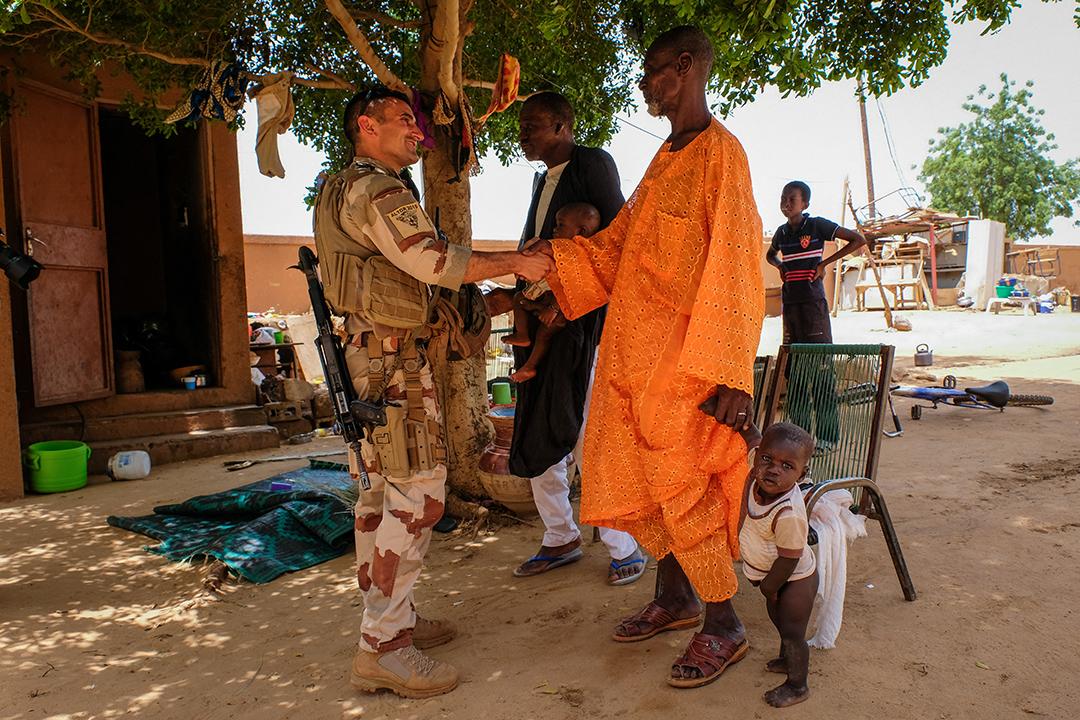 Un soldat français en patrouille à Gao, dans le nord du Mali, en août 2018.