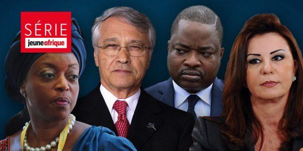 De gauche à droite : Diezani Alison-Madueke, Chabib Khelil, Komi Koutché et Leïla Ben Ali.