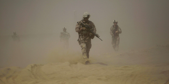 Un Marines américain, dans la province afghane d'Helmand, en juin 2009 (archives).