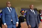 Félix Tshisekedi et Joseph Kabila, en janvier 2019.