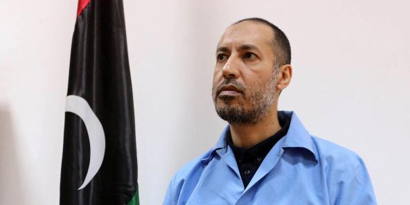 Saadi Kadhafi, le 13 mars 2016.
