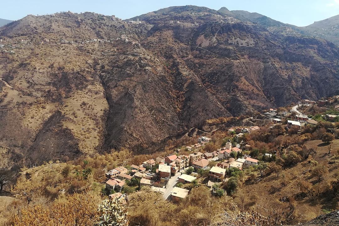 Igreb, en Kabylie, en septembre 2021.