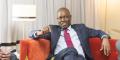 Interview d'Ade Ayeyemi, directeur général d'Ecobank, lors de l'Africa CEO Forum, à Abidjan (Côte d'Ivoire) en mars 2016.