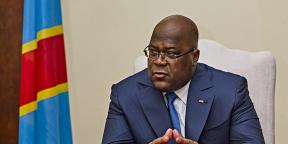 Félix Tshisekedi à Kinshasa, le 13 décembre 2019.