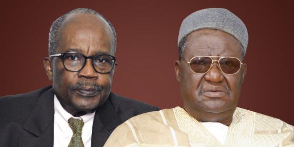 Casimir Oyé Mba et le Roi des Bamouns, Ibrahim Mbombo Njoya