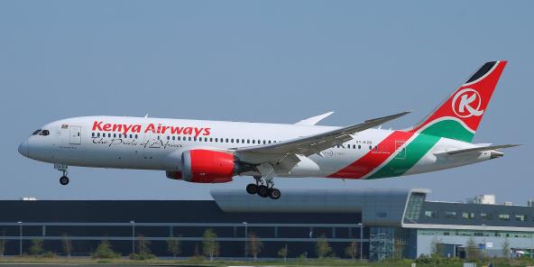 En 2020, les revenus de Kenya Airways avaient reculé d'environ 60% sur un an à 52,8 milliards de shillings (481 millions de dollars).