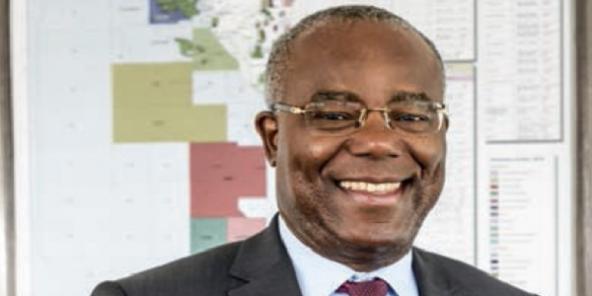 Henri-Max Ndong-Nzue est entré chez Total il y a trente ans.