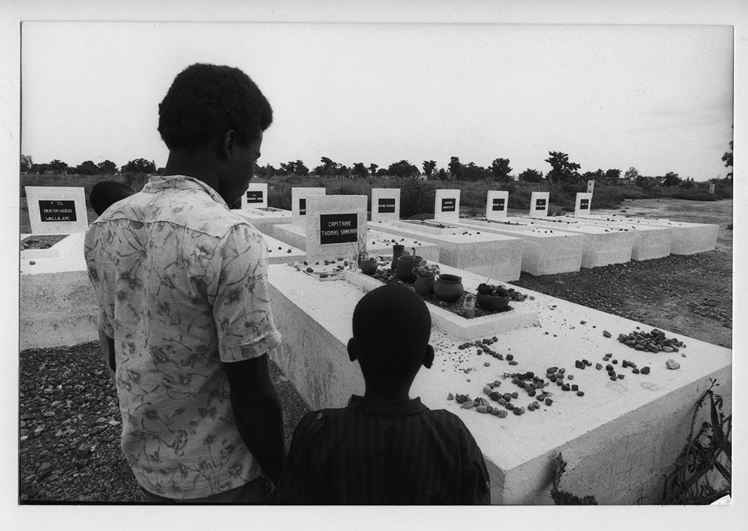 Tombe de Thomas Sankara.