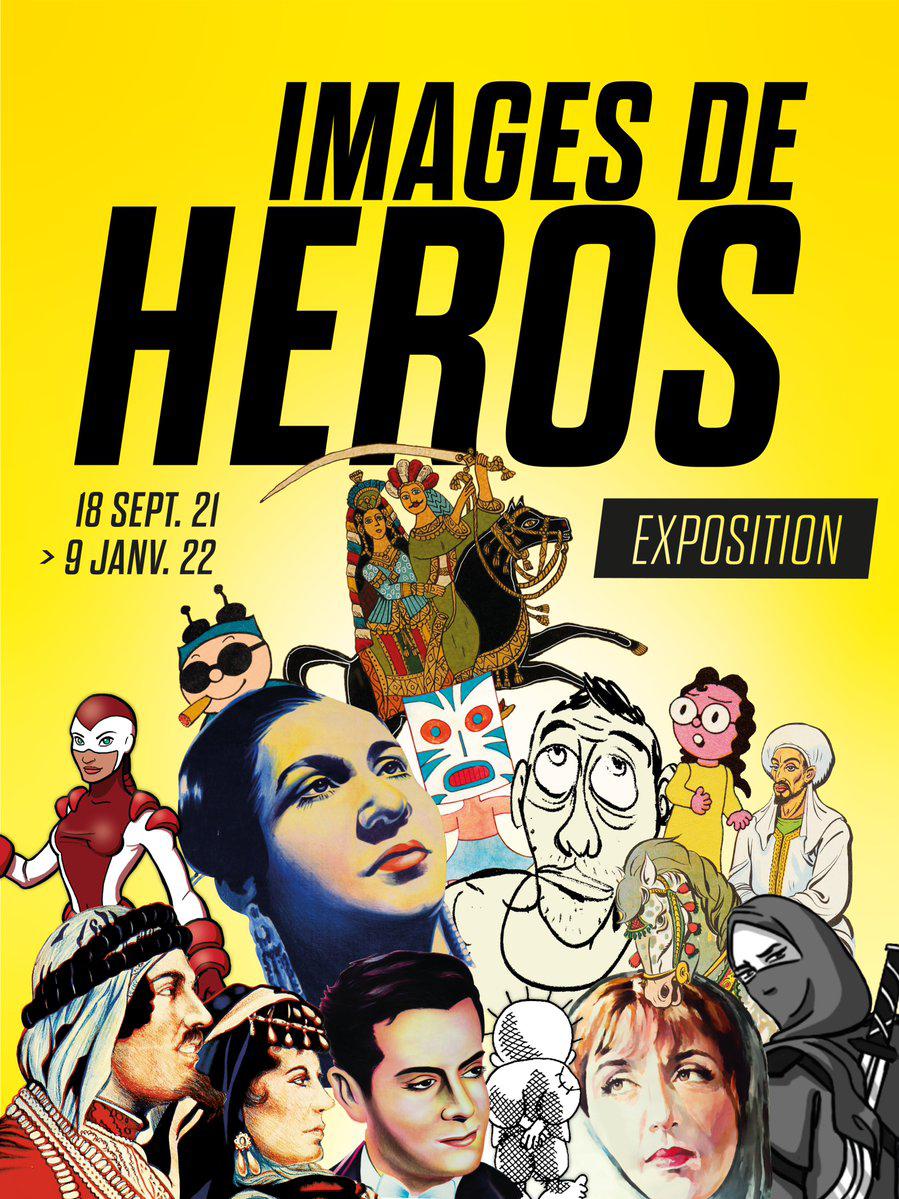 affiche expo «images de héros»