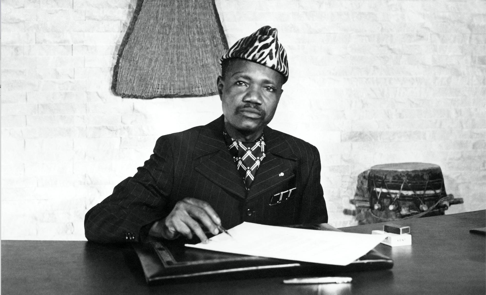 Ngarta Tombalbaye en 1974
